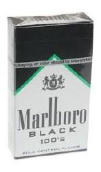 Marlboro Black Menth 100 Carto