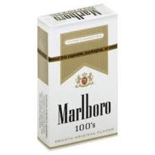 Marlboro Gold 100 - Pack or Carton