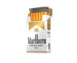 Marlboro Gold Label 100 - Pack or Carton