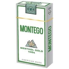 Montego Menthol Gold 100 - Pack or Carton