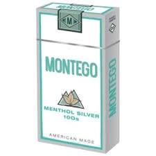 Montego Menthol Silver 100 - Pack or Carton