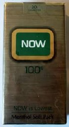 NOW Menthol Green 100 - Pack or Carton