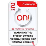 On! Cinnamon 2mg