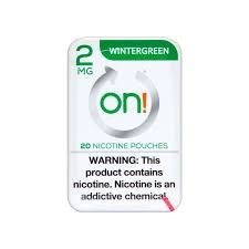 On! Wintergreen 2mg