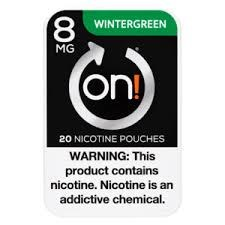 On! Wintergreen 8mg
