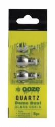 Ooze Quartz Dome Dual Coils