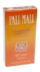 Pall Mall Orange - Pack or Carton