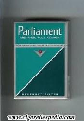 Parliament Full Flavor Menthol - Pack or Carton