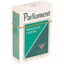 Parliament Menth Light - Pack or Carton