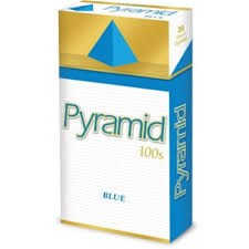 Pyramid Blue 100 - Pack or Carton