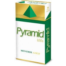 Pyramid Menthol Gold 100 - Pack or Carton