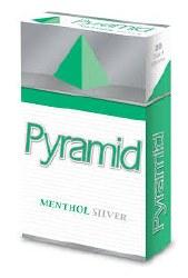 Pyramid Menthol Silver - Pack or Carton