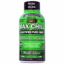 Hb Cbd Max Chill Relax Shot