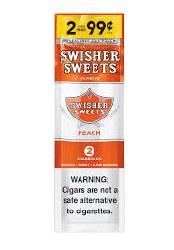 Swisher Sweet Peach 2pk