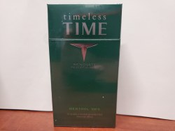 Time Men Dark Green 100 - Pack or Carton