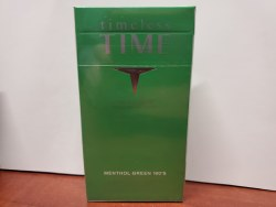 Time Men Lt Green 100 - Pack or Carton