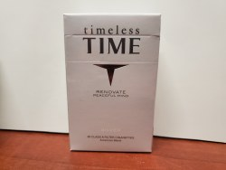 Time Silver - Pack or Carton