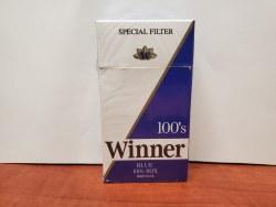 Winner Blue 100s - Pack or Carton