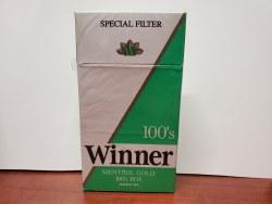 Winner Menthol Gold 100 - Pack or Carton
