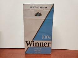 Winner Silver 100s - Pack or Carton