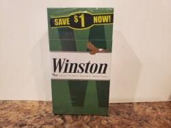 Winston Menthol Green 100 - Pack or Carton