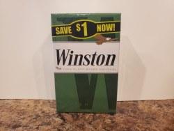 Winston Menthol Green King - Pack or Carton