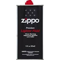 Zippo Ligher Fluid 12oz
