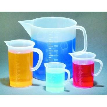 Polypropylene Beakers with Handles