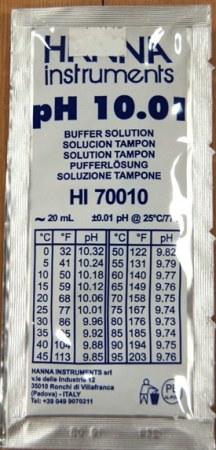 Buffer pH-10 25pk