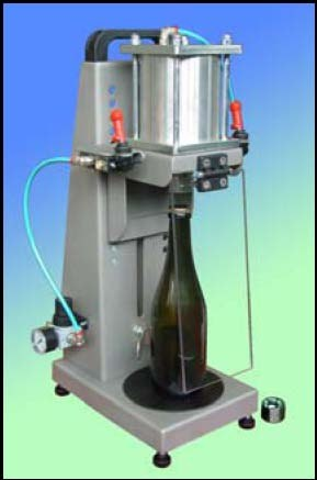 Crown Capper Pneumatic Stainless Steel