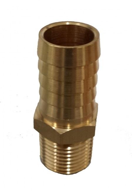 King Nipple 3/4 x 3/4 Brass