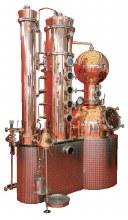 250 Liter Steam Fired Column Still