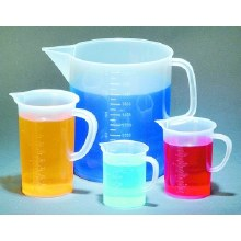 Polypropylene Beakers with Handles