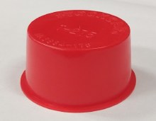 T-275 Red Plastic Bung 300 ct.