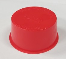 T-285 Red Plastic Bung 300 ct.