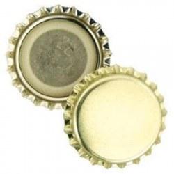 Crown Cap Gold 144pk