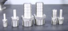 "King Nipple 1/2"" x 1/2"" Stainless Steel"