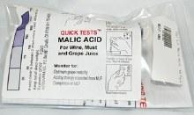 Test Kit Malic Acid 10pk