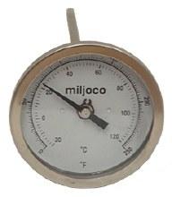 "Thermometer Tank 6"" x 1/2""MPT"