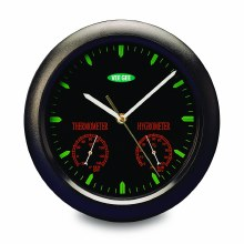 Thermometer Wall Clock & Hyg