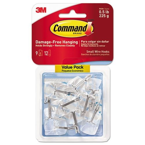 3M COMMAND SMALL WIRE HOOKS