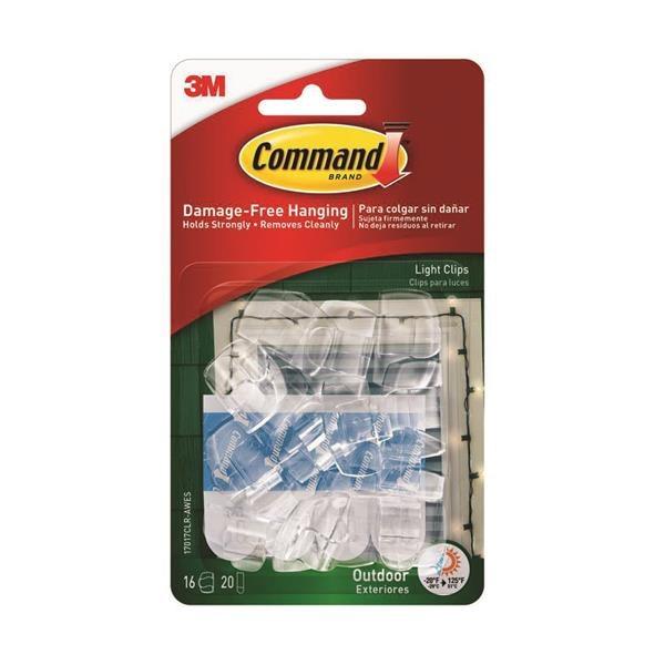 3M COMMAND LIGHT CLIPS