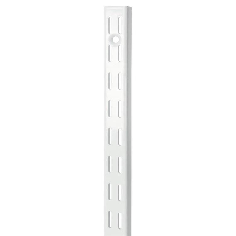 B ORG TWIN SLOT H-UPRIGHT 100CM WHITE