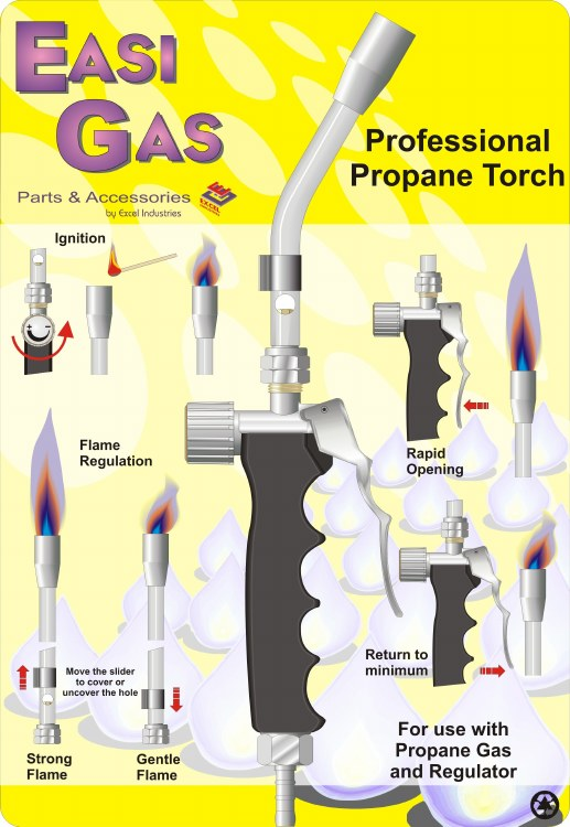 EASIGAS ECO GAS TORCH KIT