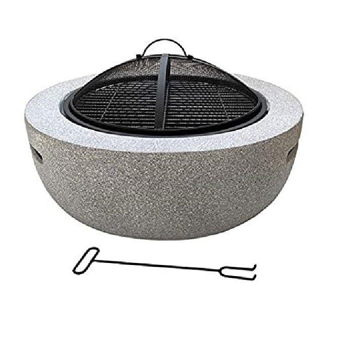 FIRE BOWL MGO WITH BBQ RACK
