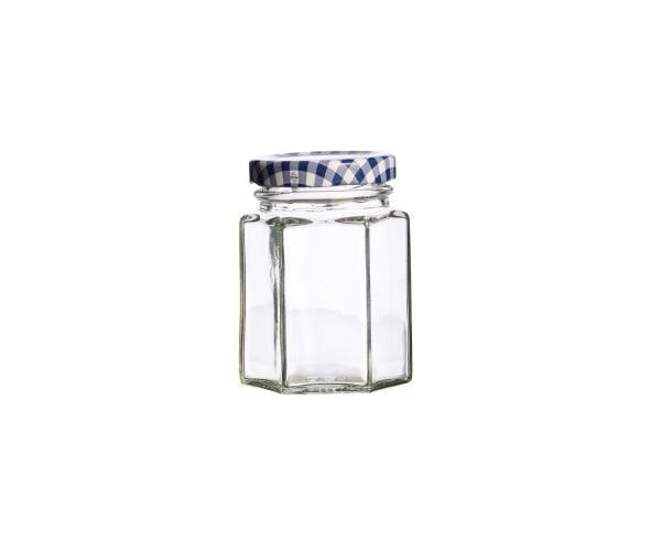 KILNER HEX TWIST TOP 110ML JAR