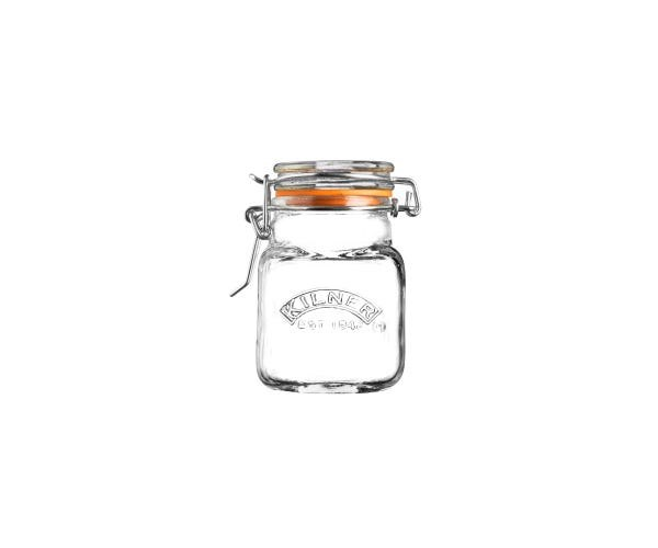 KILNER SQUARE CLIP SPICE JAR