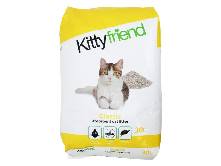 KITTY FRIEND 30L CLASSIC CAT LITTER