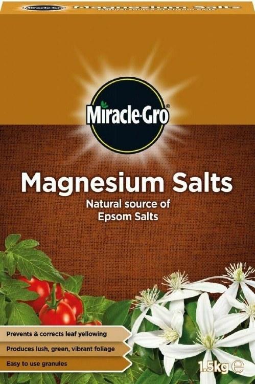 MIRACLE GRO MAGNESIUM EPSON SALT 1.5KG