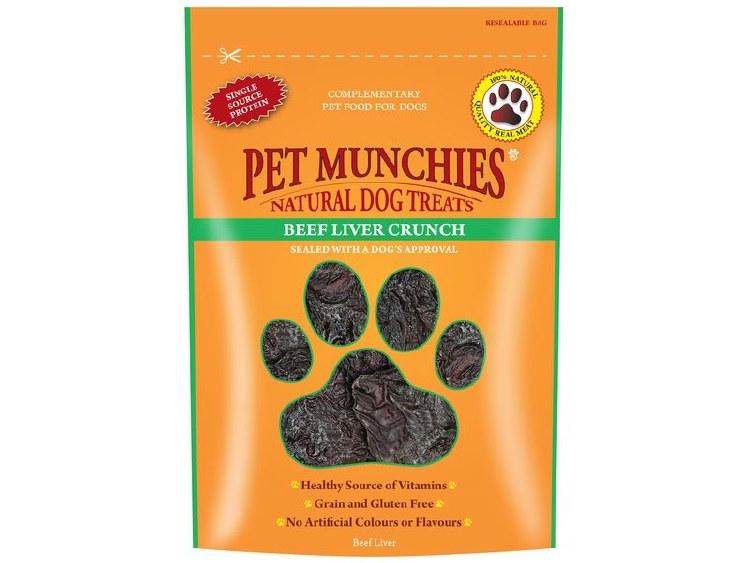 PET MUNCHIES BEEF & LIVER CRUNCH 90G